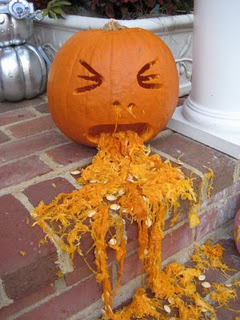 Pumpkin Barf